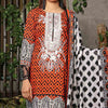 Aiman Fahad Embroidered Lawn 3 Piece Un-Stitched Suit - 6