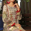 Aiman Fahad Embroidered Lawn 3 Piece Un-Stitched Suit - 8B