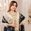 Eirene Luxury Embroidered Chiffon 3 Pcs Semi-Stitched Suit - D9186
