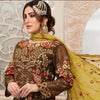 Eirene Luxury Embroidered Chiffon 3 Pcs Semi-Stitched Suit - D9192