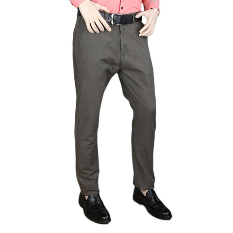 Men's Cotton Chino Pant - Dark Grey
