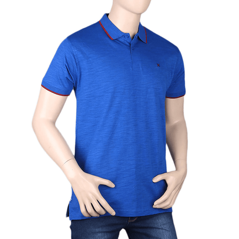 Men's Eminent Half Sleeves T-Shirt - Royal Blue