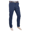 Men's Basic Cotton Pant - Dark Blue