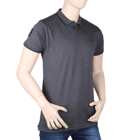 Men's Eminent Half Sleeves T-Shirt - Grey