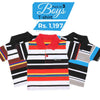 Boys Half Sleeves Polo T-Shirts Pack Of 3