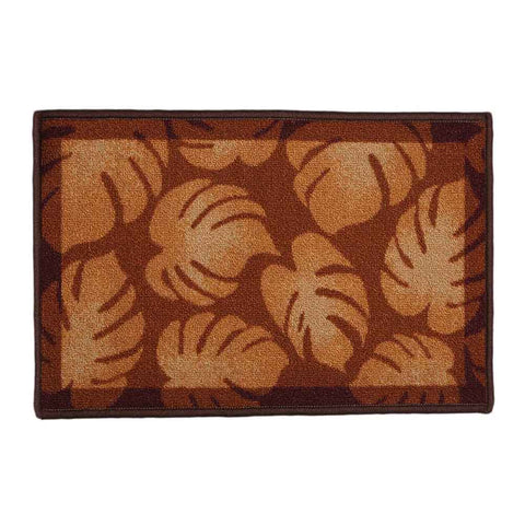Printed Door Mat 17 x 27 - Brown
