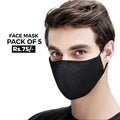 Face Mask Pack of 5 - Multi