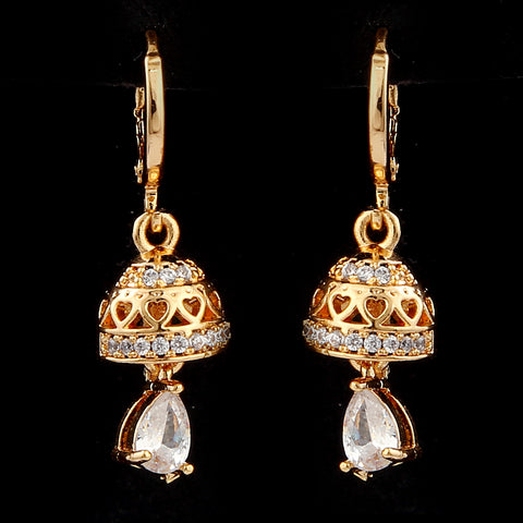 Women's Jhumki - Golden