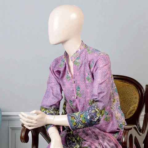 Pristine Embroidered Lawn Suit - FL6B - test-store-for-chase-value