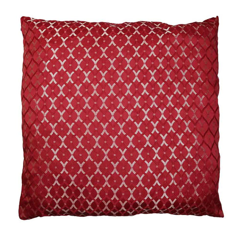 Cushion Covers 2 Pcs Set - Maroon