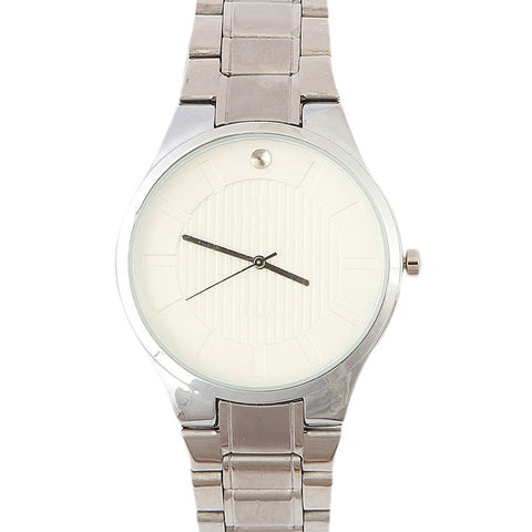 Men's Wrist Watch - White