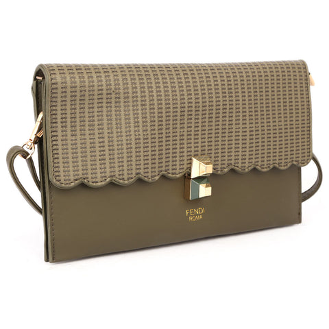 Ladies Clutch 9349 - Army Green