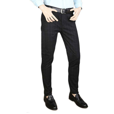 Men's Cotton Chino Pant - Black