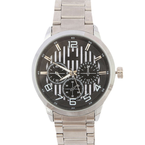 Men's Wrist Watch - Black