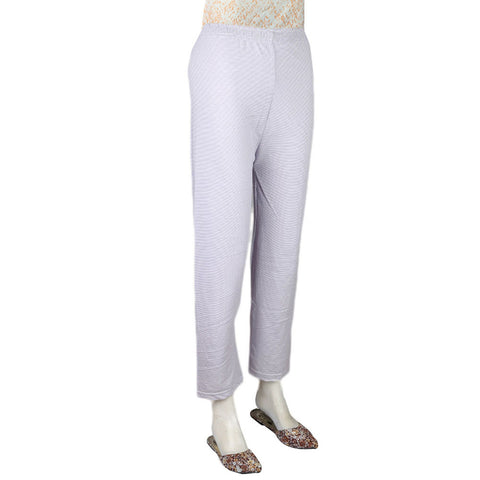 Women's Printed Trouser - Purple - test-store-for-chase-value