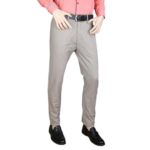 Men's Cotton Chino Pant - Light Grey