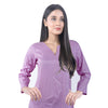 Karizma Chahat Printed Lawn 1 Pcs Un-Stitched Kurti - Light Purple