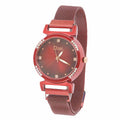 Women's Fancy Watch - Maroon