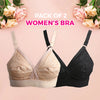 Women's Cotton Bra Pack Of 2