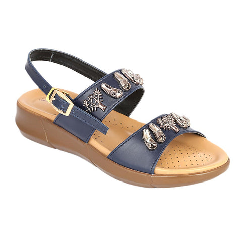 Women's Sandal( S-222 ) - Blue