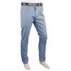 Men's Basic Cotton Pant - Steel Blue