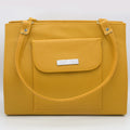 Women's Shoulder Bag 9662 - Yellow