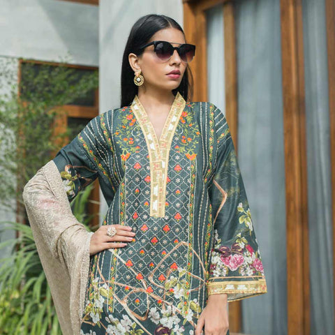 Malkah Festive Embroidered Lawn Suit - 11 - test-store-for-chase-value