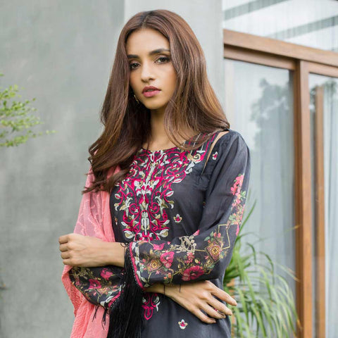 Malkah Festive Embroidered Lawn Suit - 13 - test-store-for-chase-value