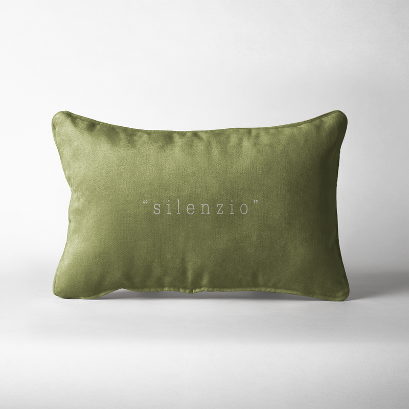 cuscino decorativo 30x40 cm. colore wasabi