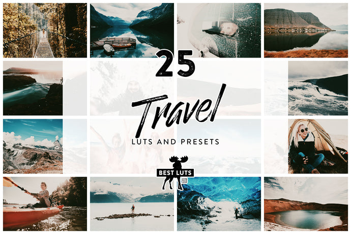 Travel - 25 LUTs and Lightroom Presets