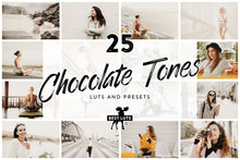 Load image into Gallery viewer, Chocolate Tones - 25 LUTs and Lightroom Presets