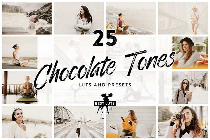 Chocolate Tones - 25 LUTs and Lightroom Presets