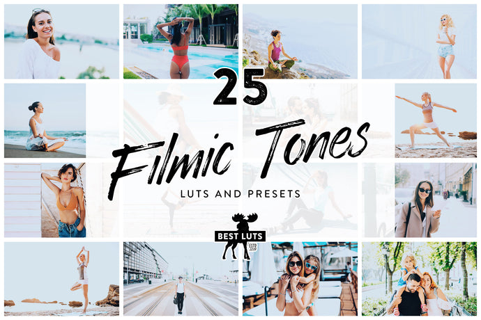 Filmic Tones - 25 LUTs and Lightroom Presets