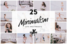 Load image into Gallery viewer, Minimalism - 25 LUTs and Lightroom Presets
