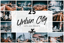 Load image into Gallery viewer, Urban City - 25 LUTs and Lightroom Presets