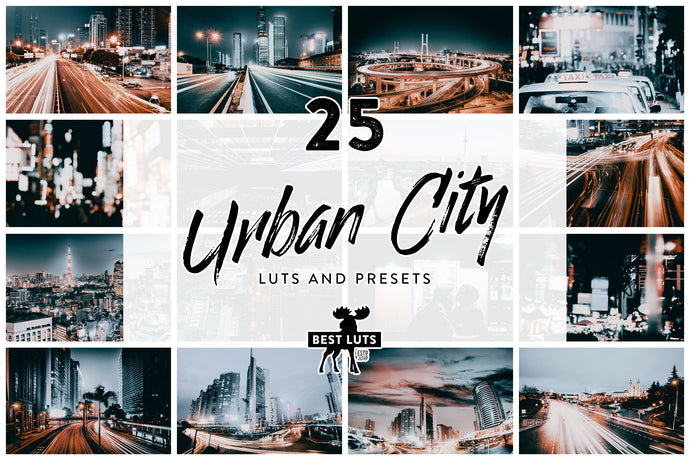 Urban City - 25 LUTs and Lightroom Presets