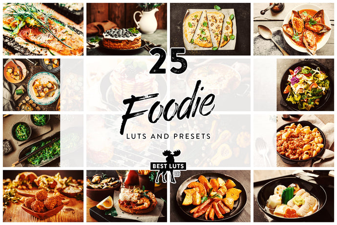 Foodie - 25 LUTs and Lightroom Presets