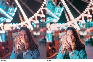 Teal and Orange -  25 LUTs and Lightroom Presets