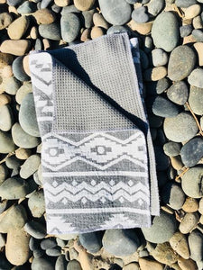 golf towel grey nav surf