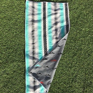 Wishbone Players towel original Baja Green