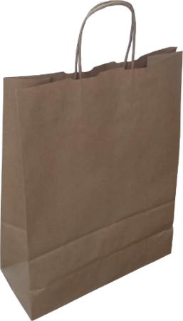 Twisted Handle Brown Paper Carriers - Gardnersbags