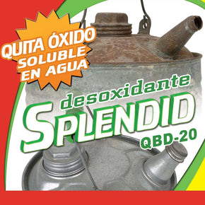 DESOXIDANTE USOS MULTIPLES 900 ml SPLENDID QBD-20