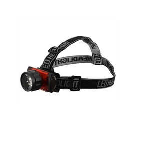 LAMPARA FRONTAL MANOS LIBRES 1LED 3AAA DOGOTULS NR2127