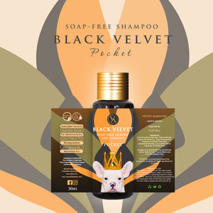 Black Velvet Pocket Soap-Free Dog Shampoo