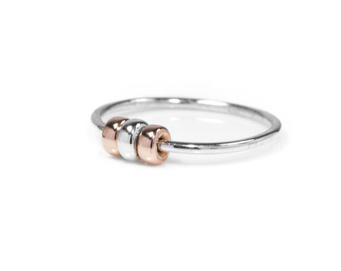 Silver Fidget Ring - Jewelry than can help you relax