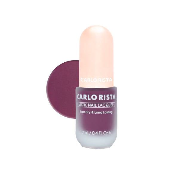 55 - Purple Nail Polish - CARLO RISTA