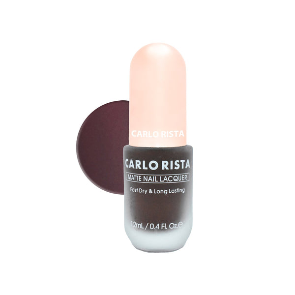 61 - Brown Nail Polish - CARLO RISTA