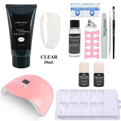 60ML POLY GEL QUICK EXTENSION BUILDER FULL KIT