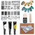 Nail Art Stamp Stencil Stamping Template Plate Set