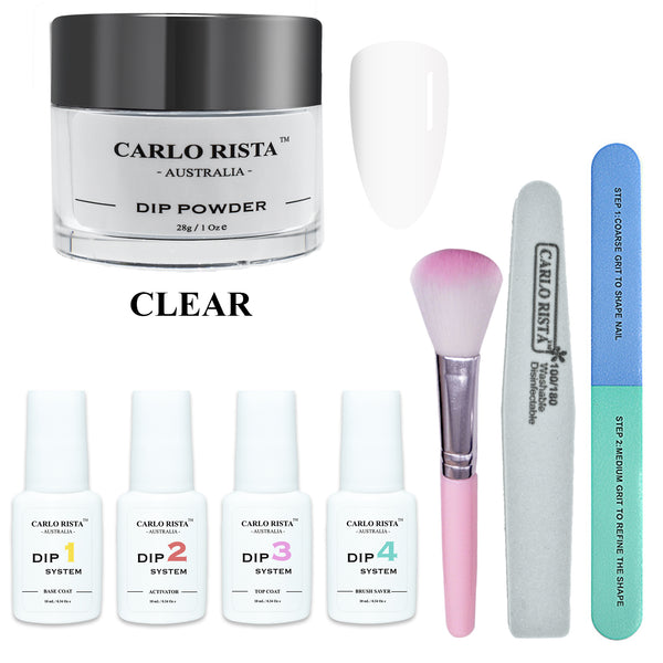 CARLO RISTA 28g Nail Dipping Powder Starter Kit